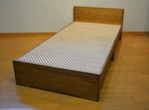 サイズ限定桐メッシュベッド