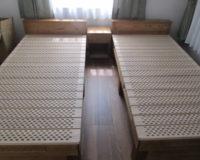 桐のベッド