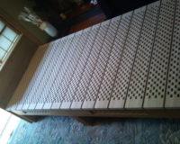 木製 桐ベッド 群馬県