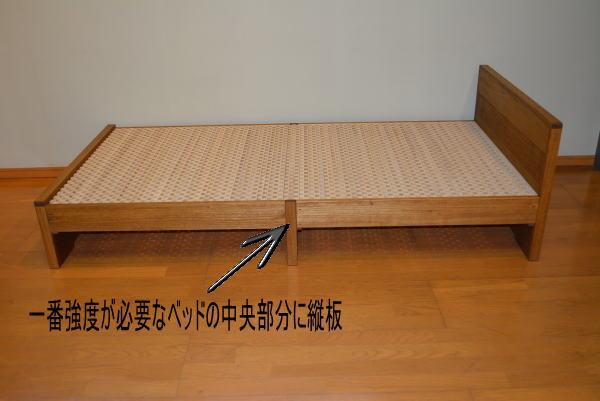 桐のベッドの強度説明