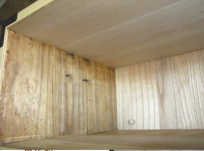 天板の修復